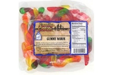 12 Pack Rucker S Candy 1119 8.5 Oz Gummy Worms