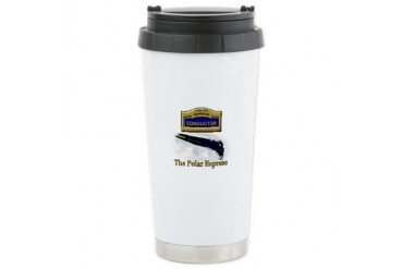 The Polar Express Hot Chocolate Christmas Ceramic Travel Mug by CafePress