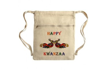Happy Masonic Kwanzaa Sack Pack Christmas Cinch Sack by CafePress