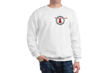 Helicopter Sweatshirt by CafePress