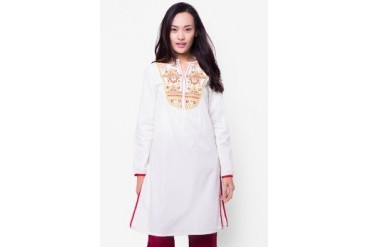 Chanira Long Blouse Etnic Embro