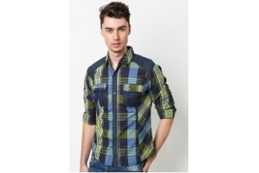 Philbert Checkered Long Sleeve Shirt