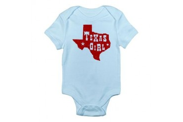 Texas Girl Infant Creeper