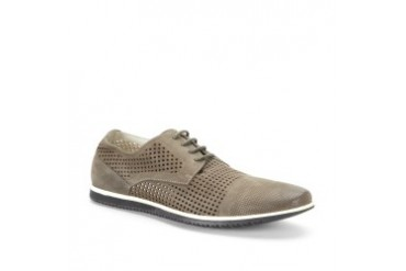 Cup of Joe Nubuck Perforated Shoe