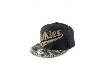 Dickies Austin High Front Round Peak Cap