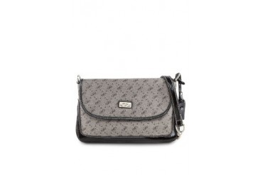 Paris Hilton Star-P Jacquard Monogram Handbag