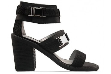 Senso Rachel in Black Kid Matt Snake size 11.0