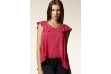 Low Back Ruffle Top