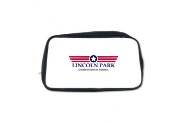 Lincoln Park Pride Michigan Toiletry Bag by CafePress