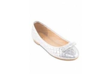 Farah Quilted Shimmer Flats