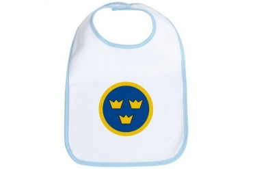 SwAF roundel Air force Bib by CafePress