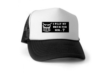 I Play My Drum For Him Cupsthermosreviewcomplete Trucker Hat by CafePress