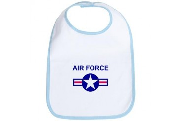 Air Force Funny Bib by CafePress