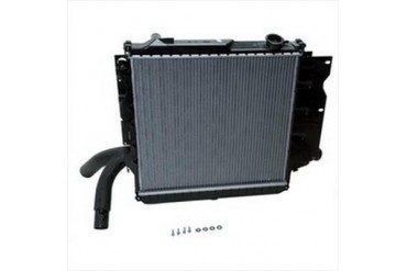 Omix-Ada Replacement 2 Core Radiator for 4 and 6 Cylinder Engine with Manual Transmission 17101.14 Radiator