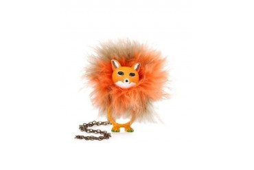 Le Pompon Convertible Fox Necklace/Ring