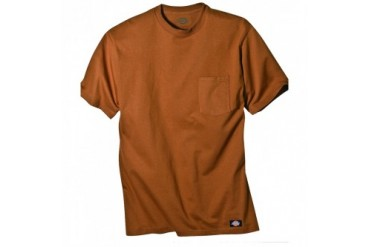 Dickies Apparel Short Sleeve Pocket Tee with Wicking