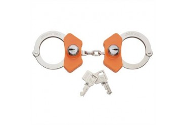 Model 710 High Security Handcuff - Model 703hs - Leg Iron - Nickel Finish