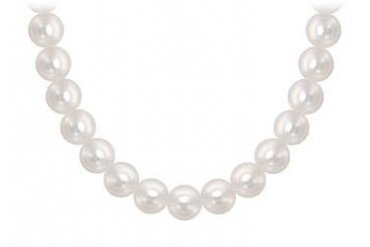 8.5MM Freshwater Cultured Pearl Strand Necklace 60 Inch Long