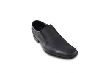 Louis Cuppers Textured Panels Slip On Dress Shoes