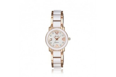 Rose Gold Plated Ivory Lining Petite Watch