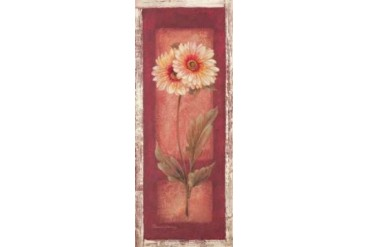 Red Door Gaillardia Poster Print by Pamela Gladding (24 x 48)