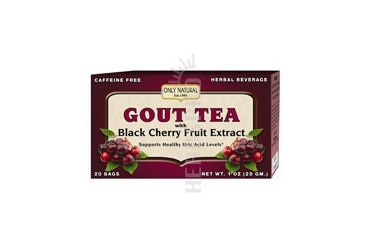 Gout Tea 20 Bags With Black Cherry Fruit Extract