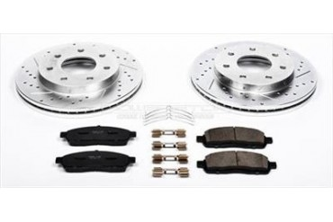 Power Stop Performance Brake Upgrade Kit K1946 Replacement Brake Pad and Rotor Kit
