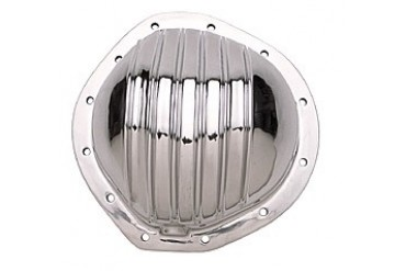 Trans-Dapt GM 8.87 5in.12 Bolt Truck Polished Aluminum Cover 4826 Differential Covers