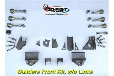 GenRight 3-Link Front Lift Kit without Links SUP-3102 Complete Suspension Systems and Lift Kits