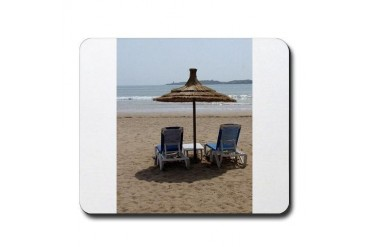 Moroccan Beach Beach Mousepad by CafePress
