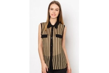 Another Sleeveless Stripe Top