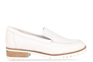To Be Announced Erma in White Leather size 6.0