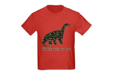 Kid Dinosaur Kids Dark T-Shirt