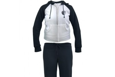 Da Moon Space Women's Tracksuit by CafePress