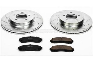 Power Stop Performance Brake Upgrade Kit K1931 Replacement Brake Pad and Rotor Kit