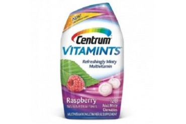 Centrum Vitamints Raspberry Adult Multivitamin Minty Chewables
