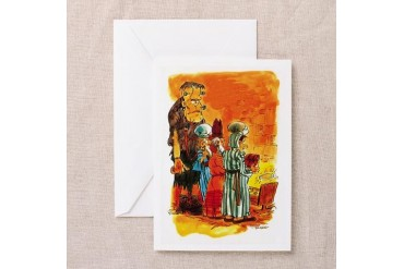 Semi-Wise Men Funny Greeting Cards Pk of 10 by CafePress