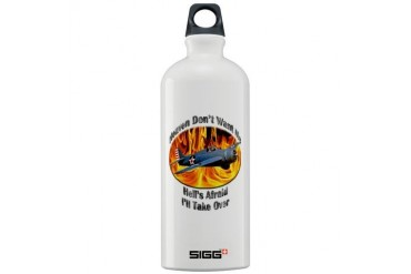 F4F Wildcat Hobbies Sigg Water Bottle 1.0L by CafePress