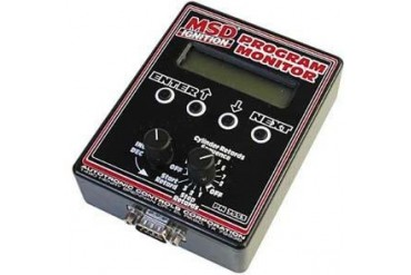 MSD Dyno Tuning Programmer Monitor 7553 Programmable Electronic Ignition