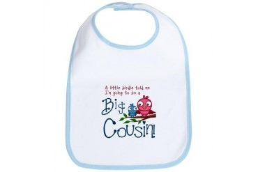 Im going to be a Big Cousin! Bib
