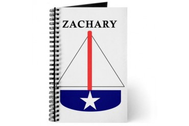 Zachary Sailboat Baby Journal by CafePress
