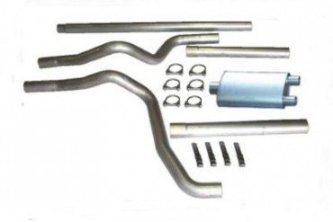 1994-2001 Dodge Ram 2500 Exhaust System Heartthrob Exhaust Dodge Exhaust System 1025500 94 95 96 97 98 99 00 01