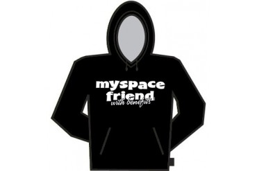 Myspace Friend With Benefits Hoodie