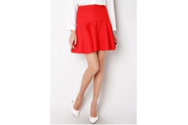 KUKI Colourful Flare Skirt
