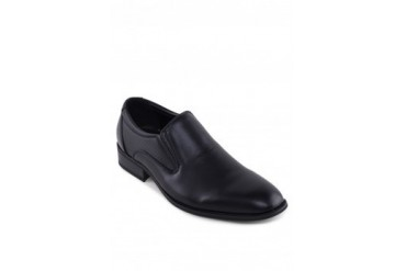 Knight PU Textured Leather Business Shoes