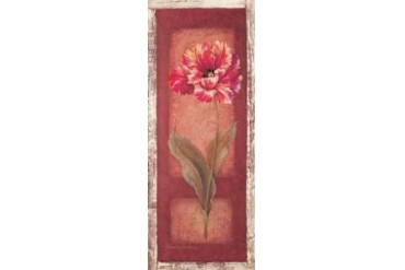 Red Door Tulip Poster Print by Pamela Gladding (24 x 48)