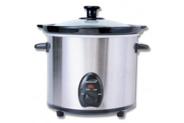 Brentwood 3qt Stainless steel Slow Cooker