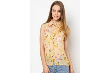Another Floral Sleeveless Top