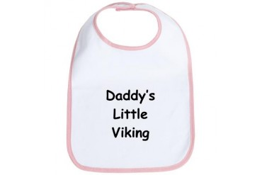 Daddy's Little Viking Sports Bib by CafePress