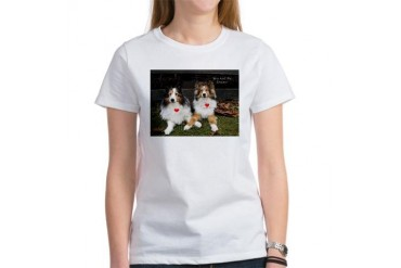 You and Me, forever Dogs Women's T-Shirt by CafePress